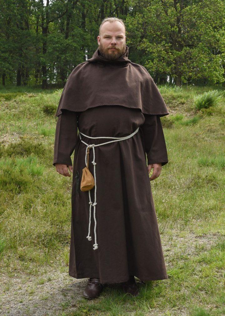 Mönchskutte Benedikt, Braun