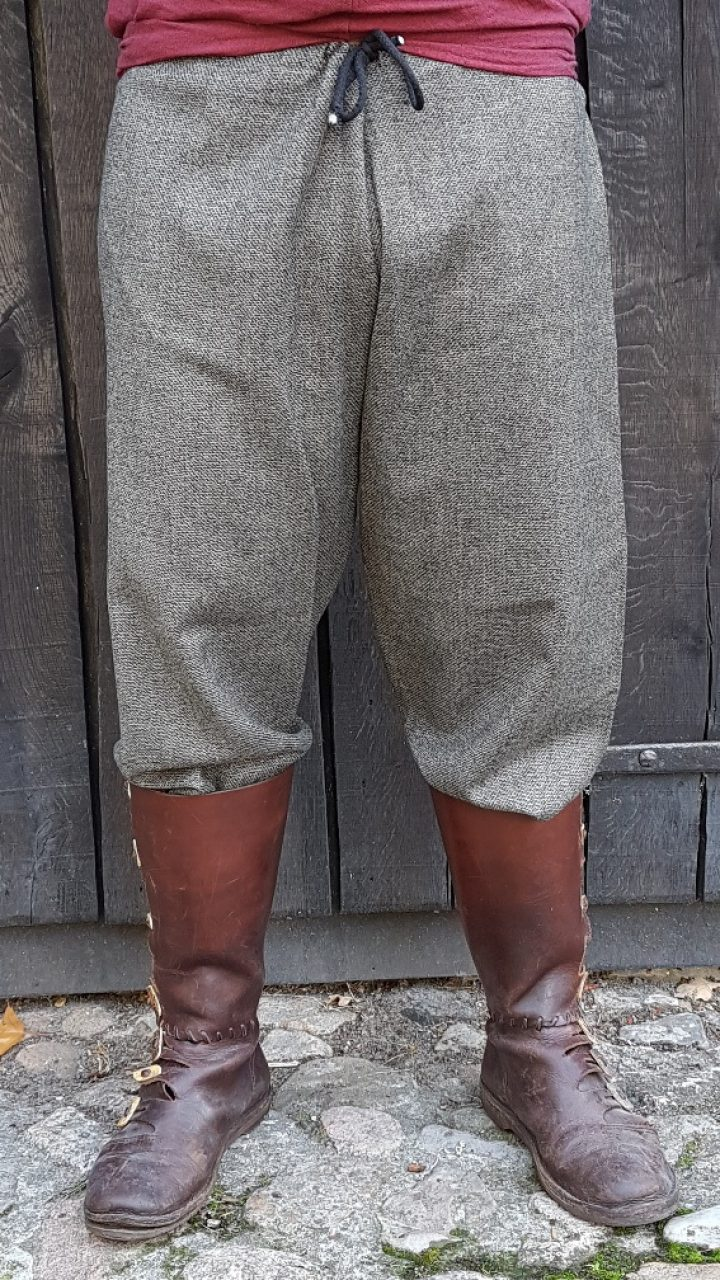 Viking Broek maat XL in grijs/groen