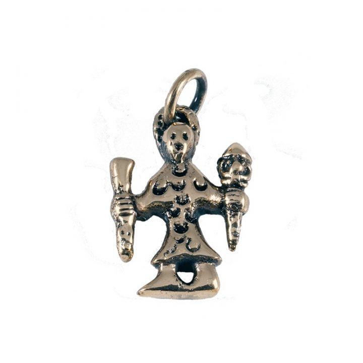 Wikinger Odin Amulet Bronze