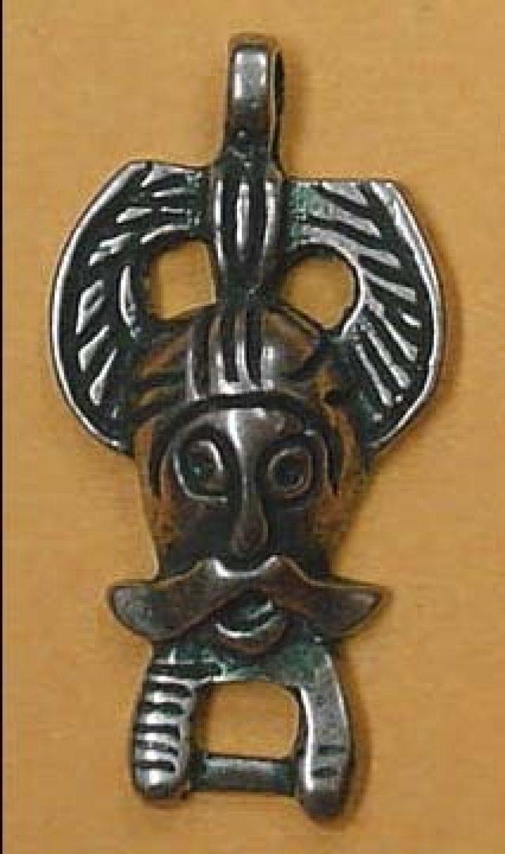 Wikinger Odin von Ribe Bronze