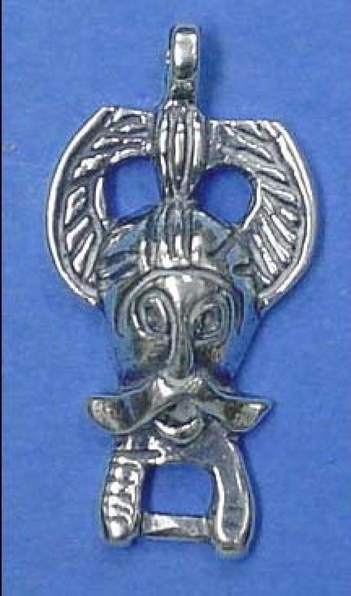 Viking Odin van Ribe Zilver