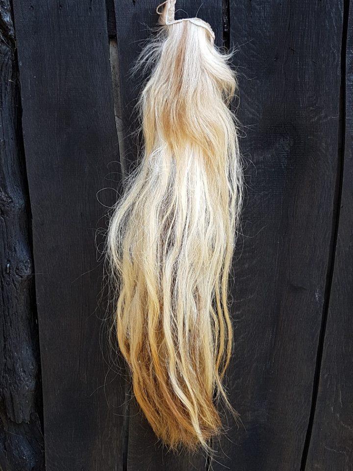 Paardenstaart licht gekleurd 85 cm