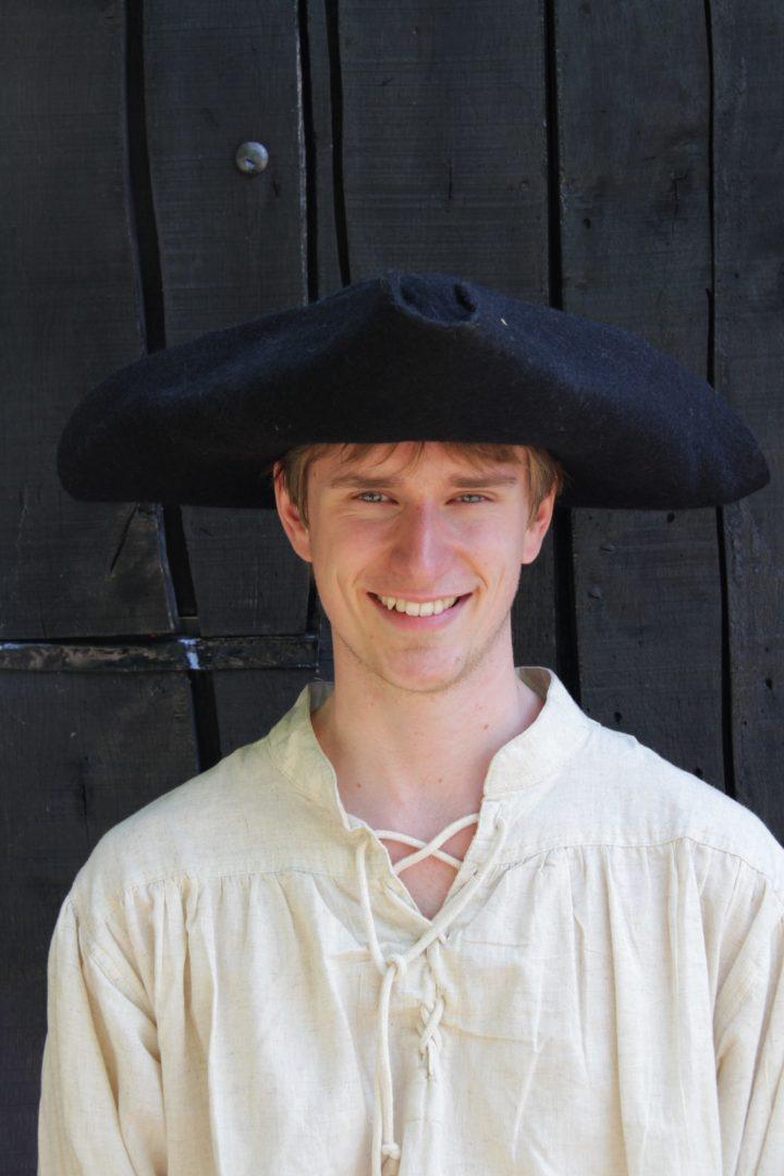 Piraten Hoed Gevilt Zwart