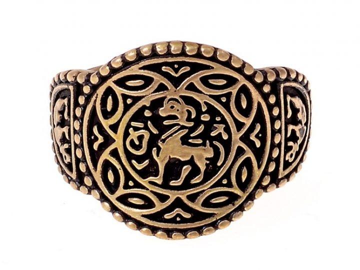 Angelsächsischen Prinzessin von Wessex Ring Bronze