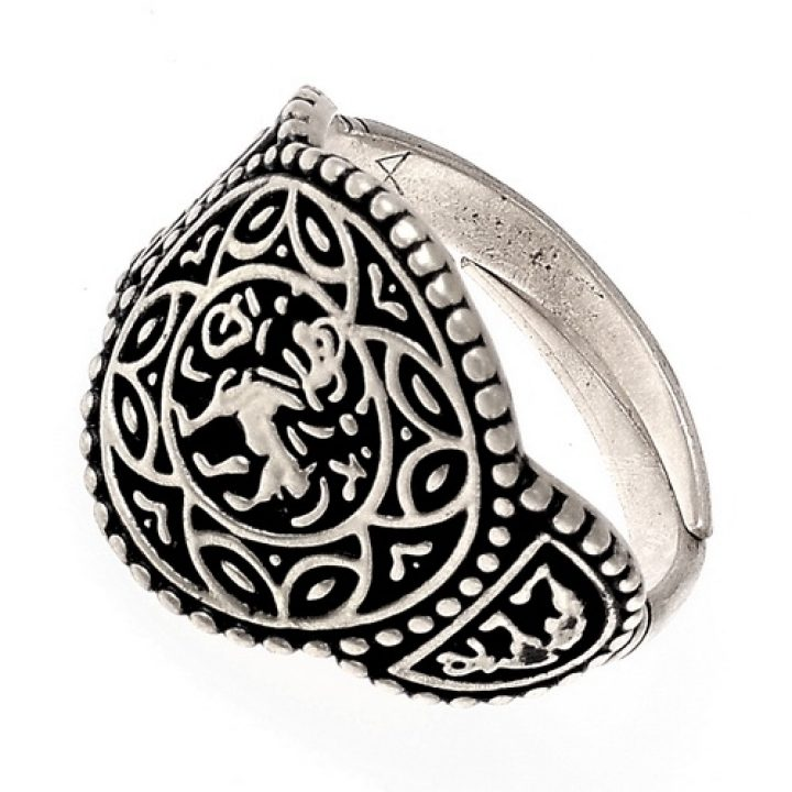 Angelsächsischen Prinzessin von Wessex Ring Verzilvert