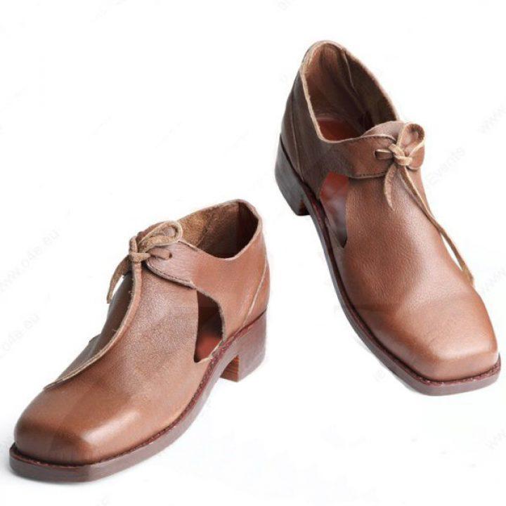 Renaissance Schoenen 17e eeuws