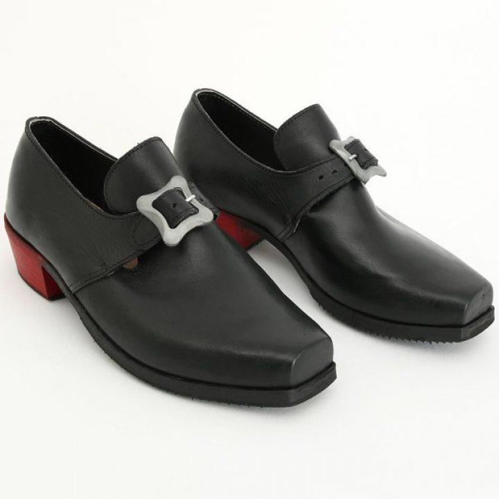 Schuhe mit roten Absätzen des Louis XIV