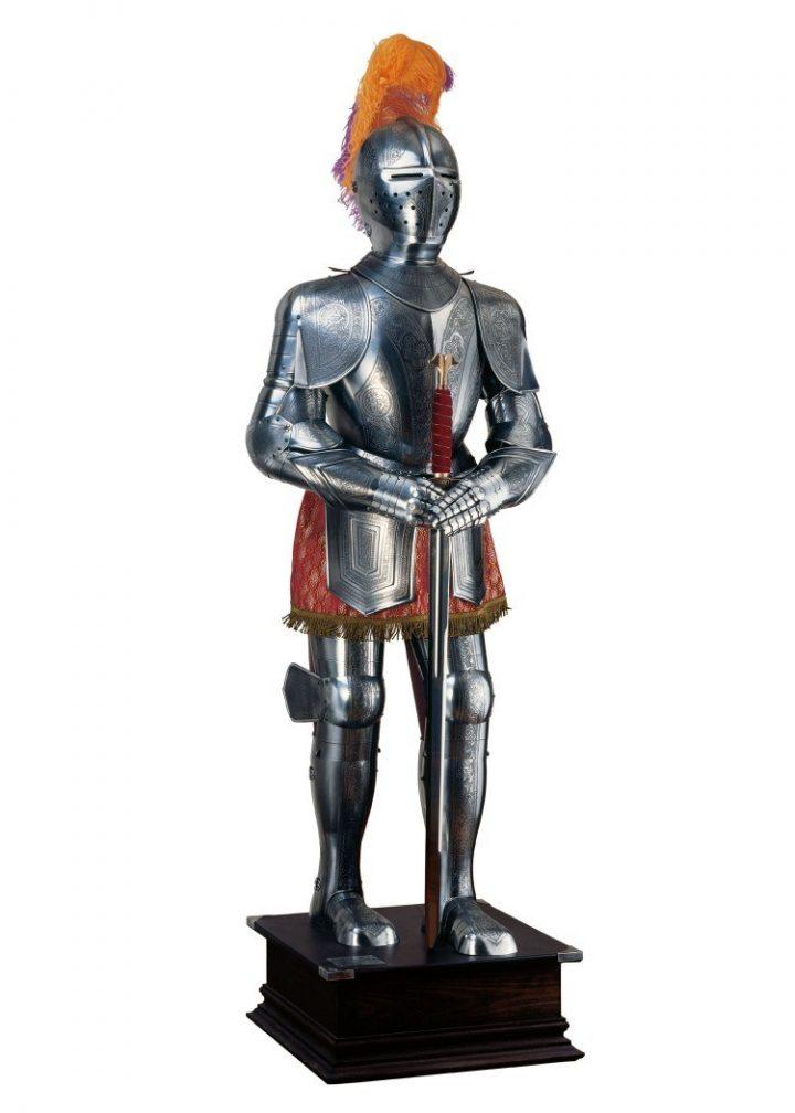 Middeleeuws Carlos de V Harnas 16e eeuws repl.
