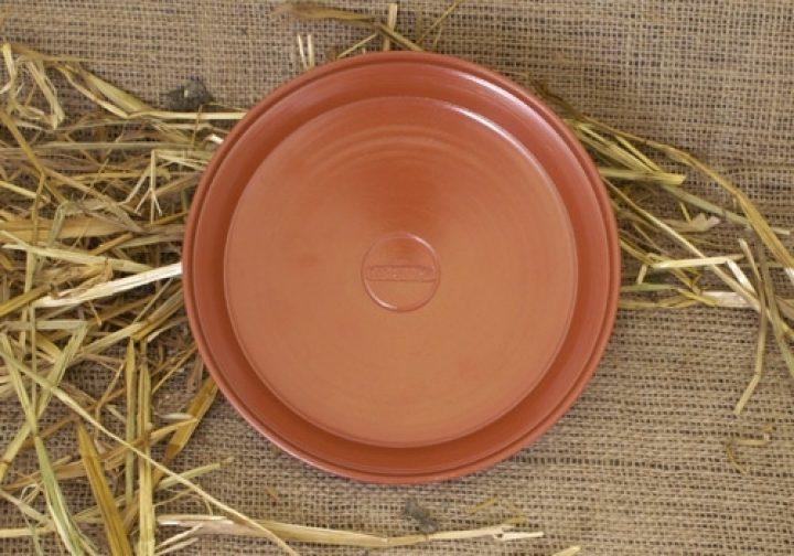 Römischer Teller aus Ton