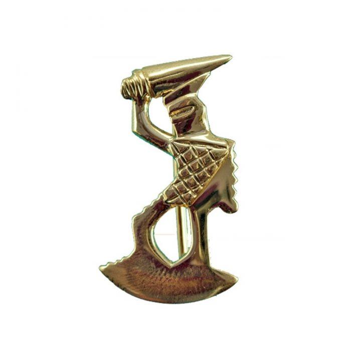 Romeinse Gladiatoren Fibula Brons