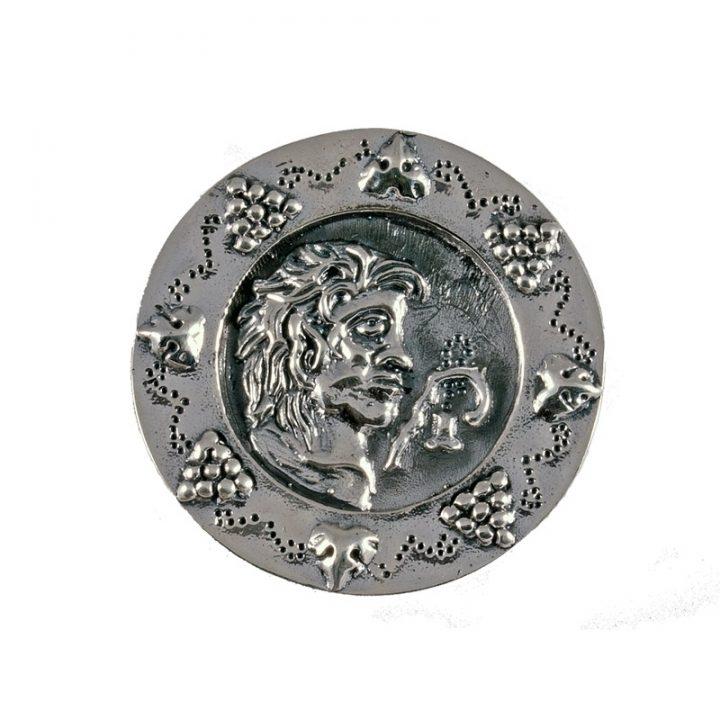 Romeinse Schijf Fibula Zilverro