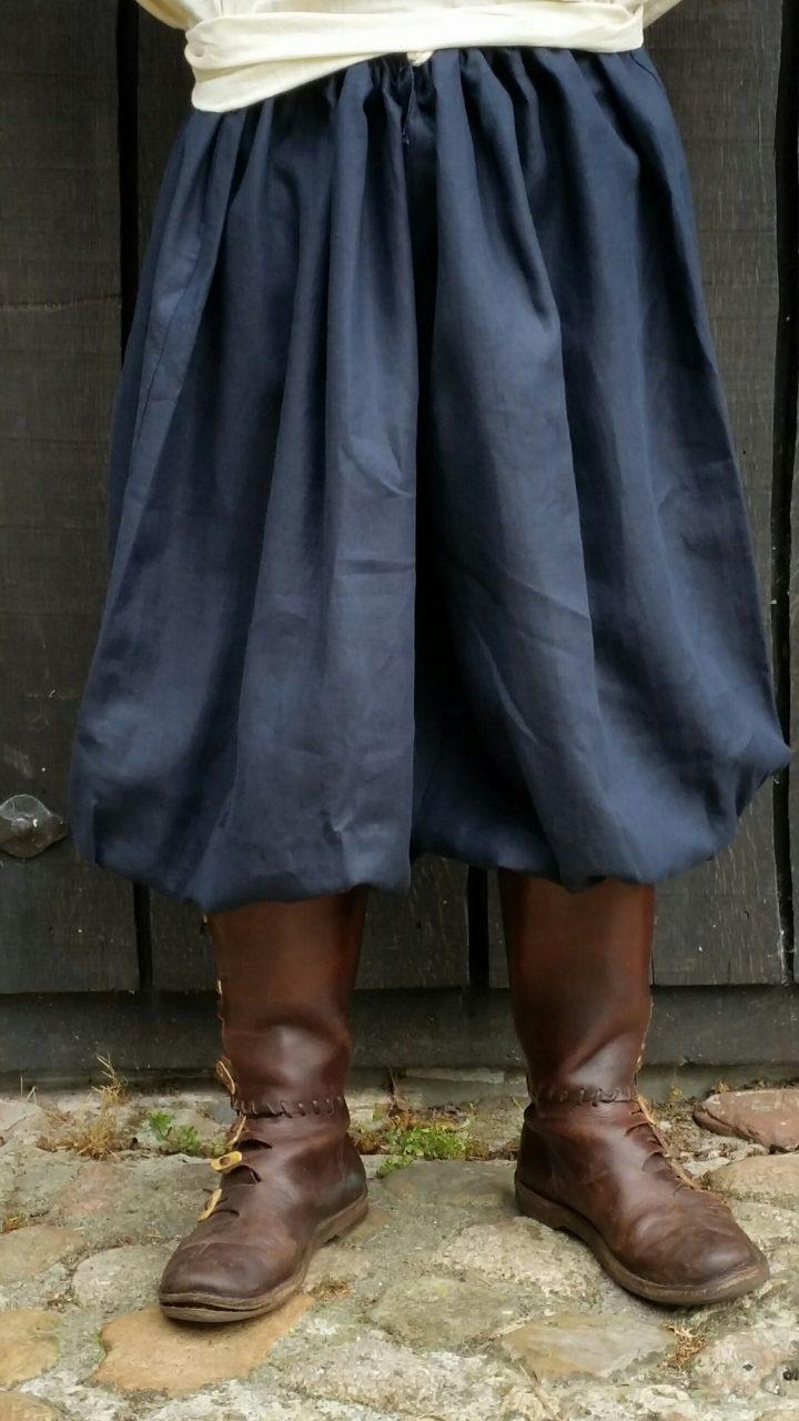 Viking Rusvik Broek donkerblauw-zwart