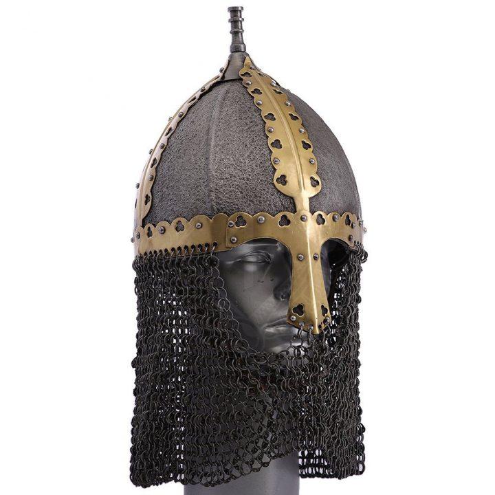 Russischer Wikinger Gnezdovo Helm Typ II; 9.-10. Jahrhundert