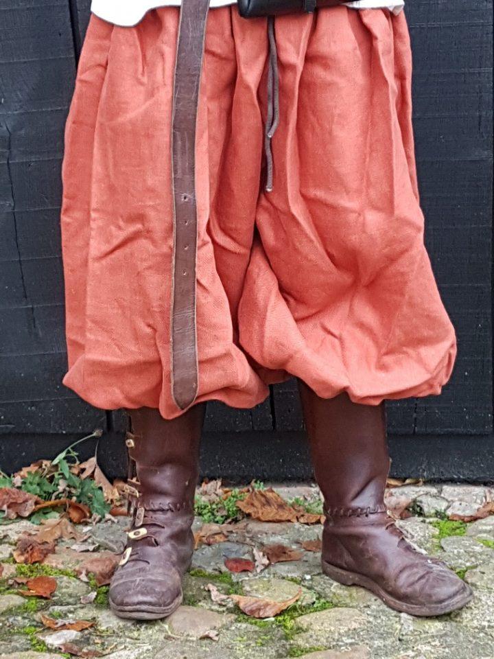 Viking Rusvik broek in maat L oranje linnen