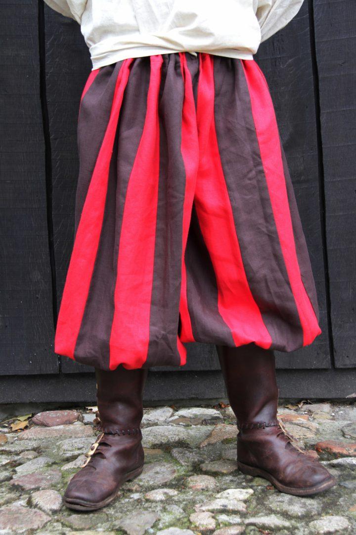 Viking Rusvik Broek Rood-Donkerbruin