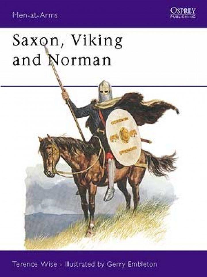 Saxen, Vikingen en Noormannen