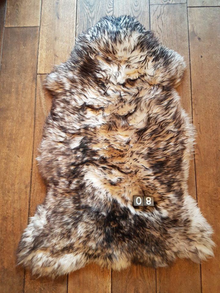 Schapenvacht Mouflon XXL +/- 110 x 65 cm