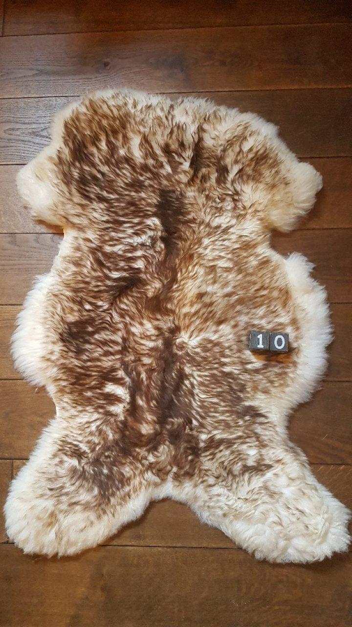 Schapenvacht Mouflon XXL +/- 115 x 70 cm