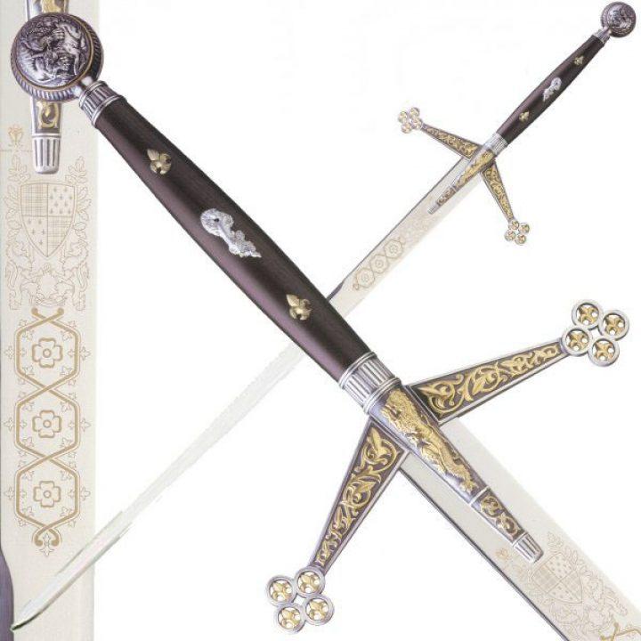 Schottisches Schwert Claymore rund 1406