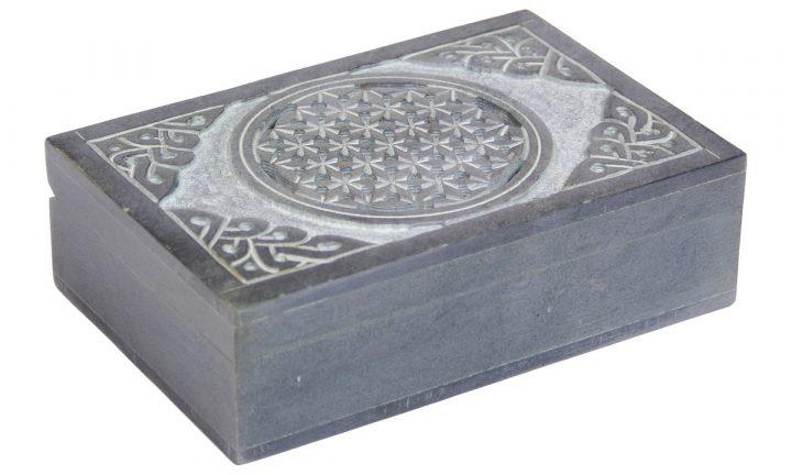 Steintruhe Keltischer Knoten aus Speckstein