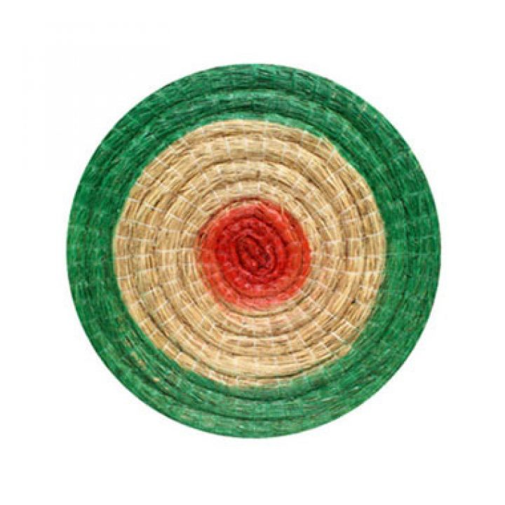 Traditionelle Strohscheibe, rund, 80 cm Durchmesser