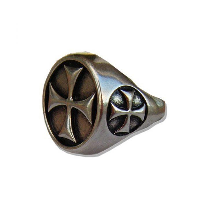 Tempeliers Ring Metaalkleur