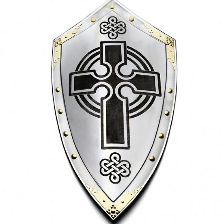 Schild met Schots Kruis