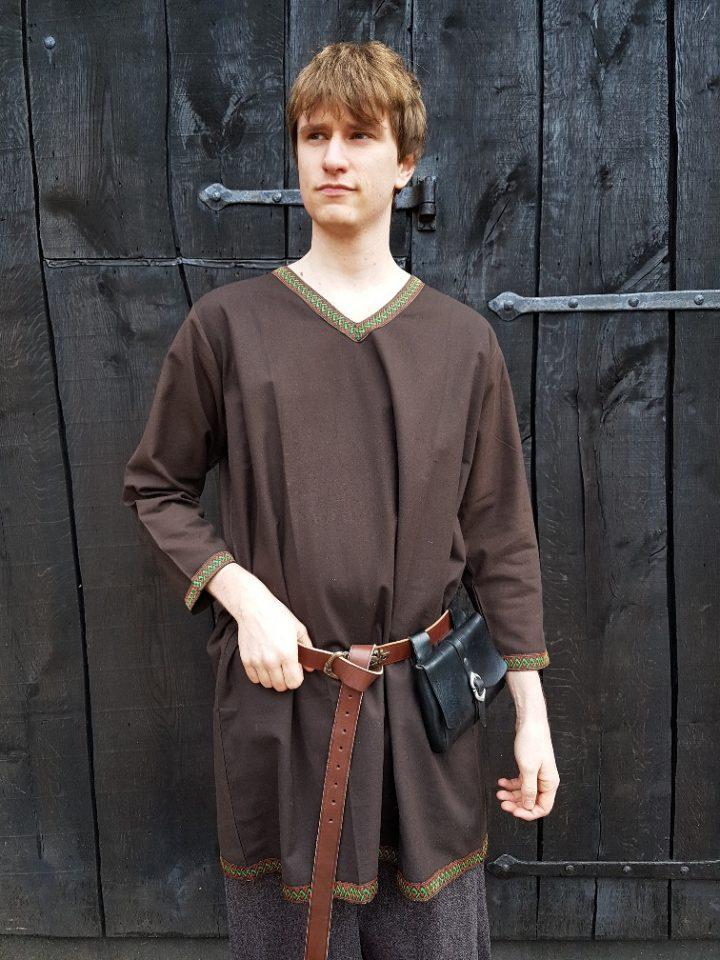 Viking Tuniek Bruin