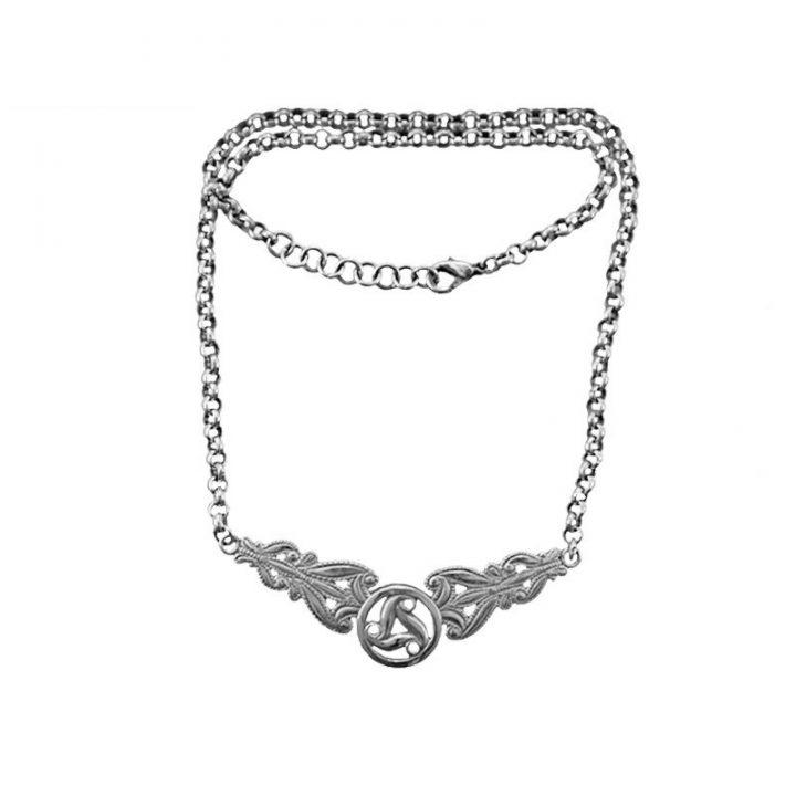 Keltisches Collier (925er Silber)