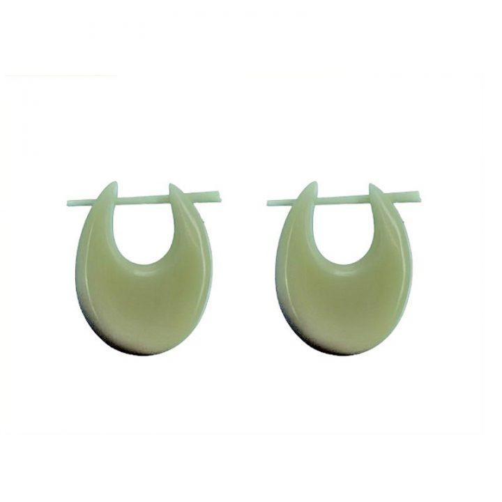 Rinderknochen Ohrringe