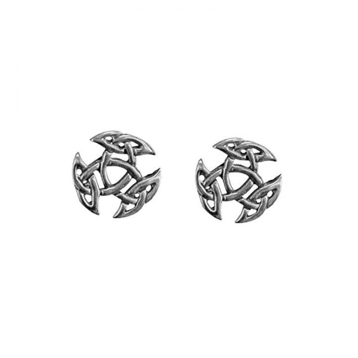 Open Triad Ohrringe 925er Silber