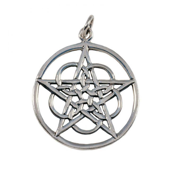 Keltishes Pentagramanhanger Silber