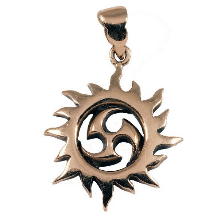 Triskele-Sonne Bronze