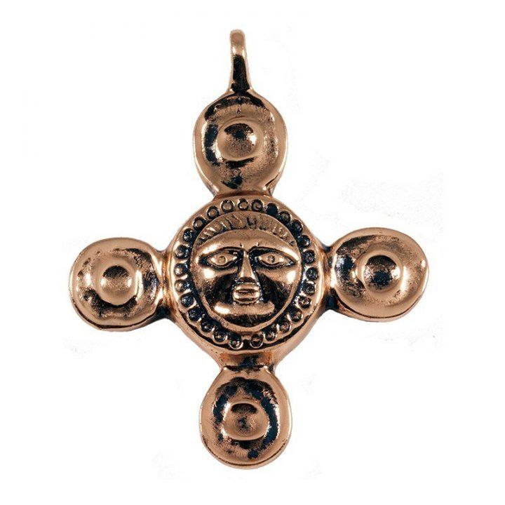 Keltischen Sonnenkultanhangers Bronze