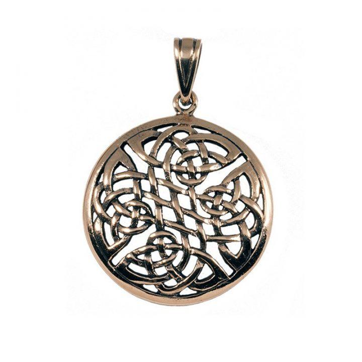 Keltische Knoophanger Brons