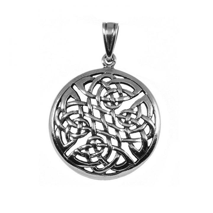Keltischer Knoten Anhanger Silber