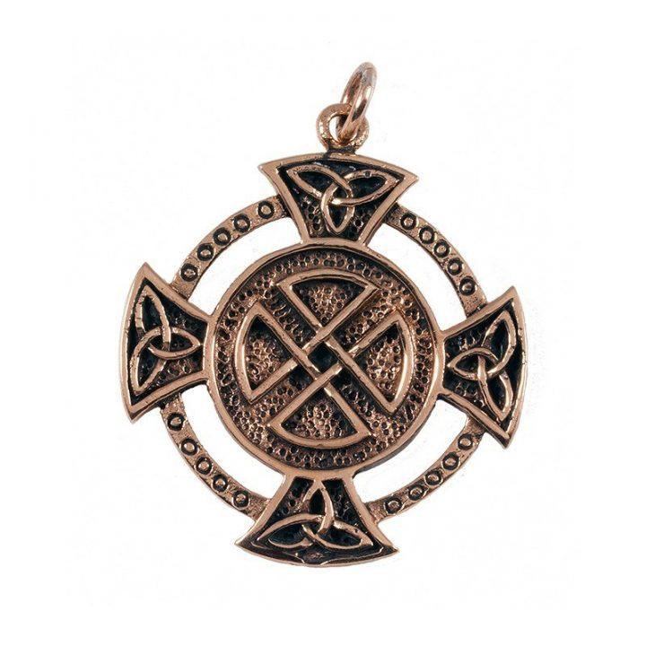 Keltischer Anhanger in Bronze