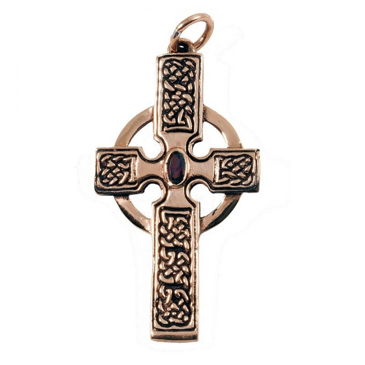 Keltischer Kreuze Anhanger Bronze