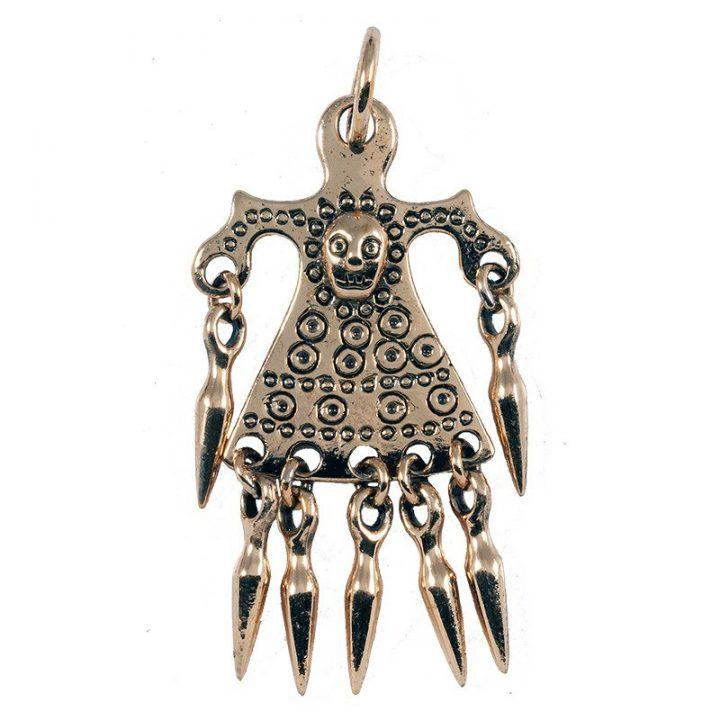 Keltisches  Votivfiguranhanger Bronze