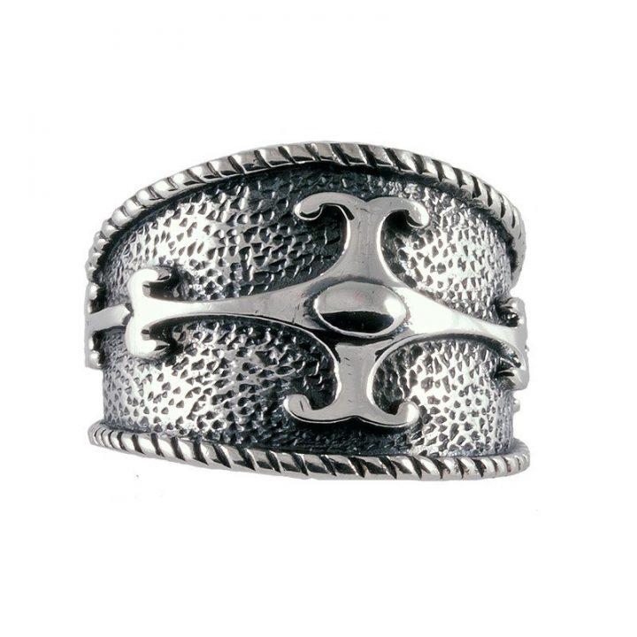 Keltische Ring Zilver Groot