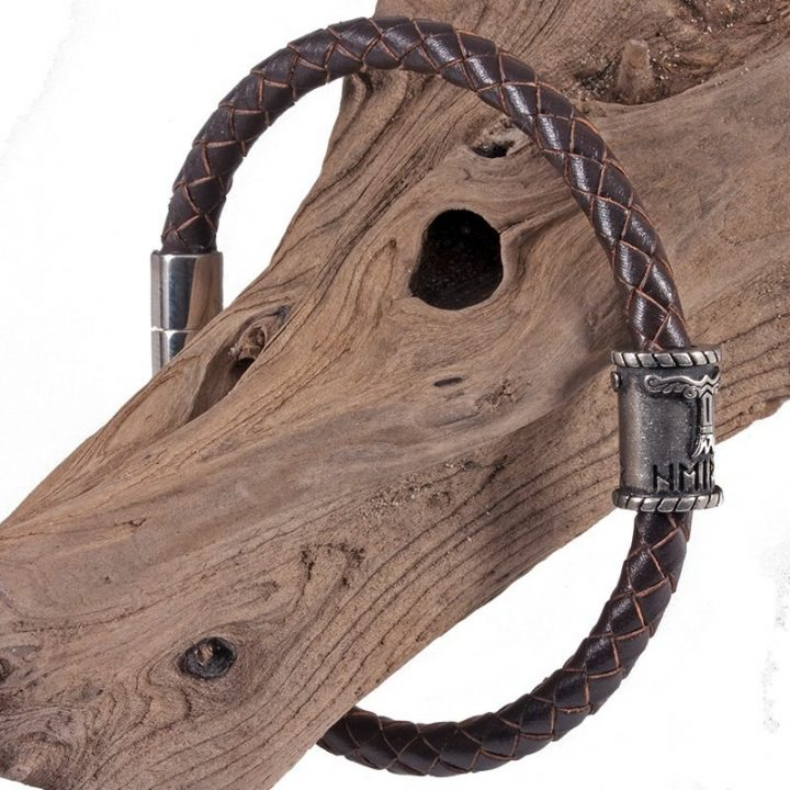 ​Viking Armband in Tin Groot