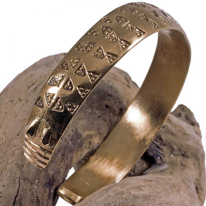 Wikinger Armspange Bronze