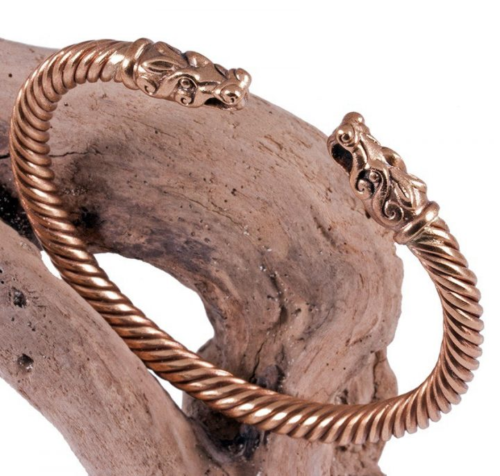 Wikinger Armreifen Bronze