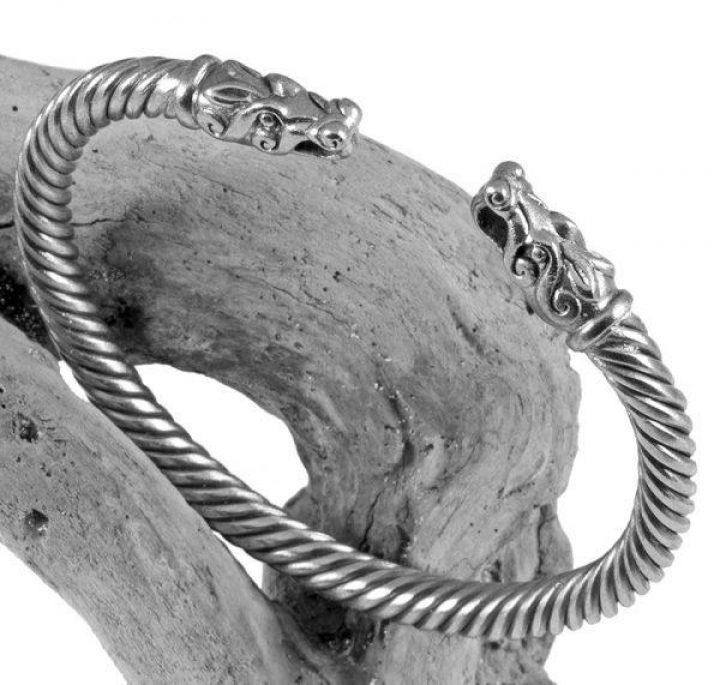 Wikinger Armreifen Silber