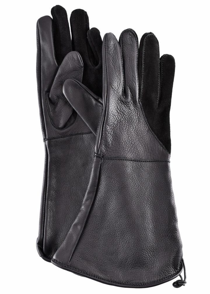 Valkeniers Handschoenen in Zwart