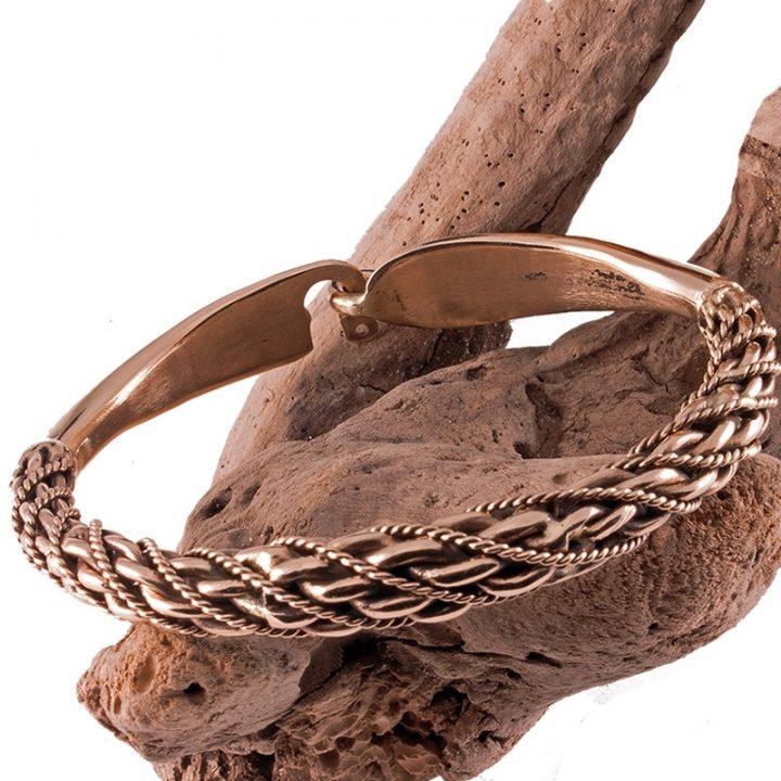Viking Armband Replica Brons