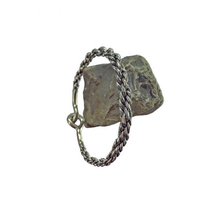 Viking Armband Zilver Klein