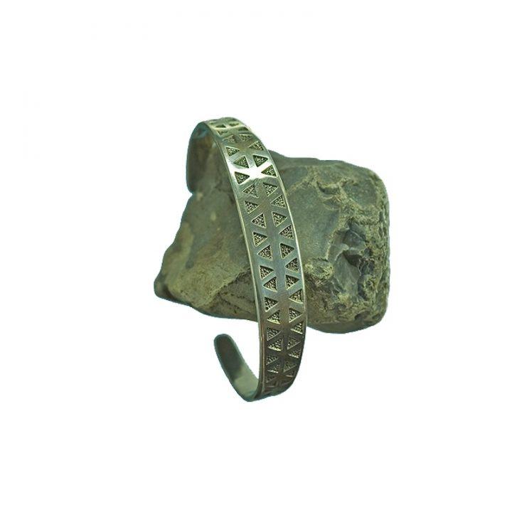 Wikinger Armreifen Replic 17cm Silber