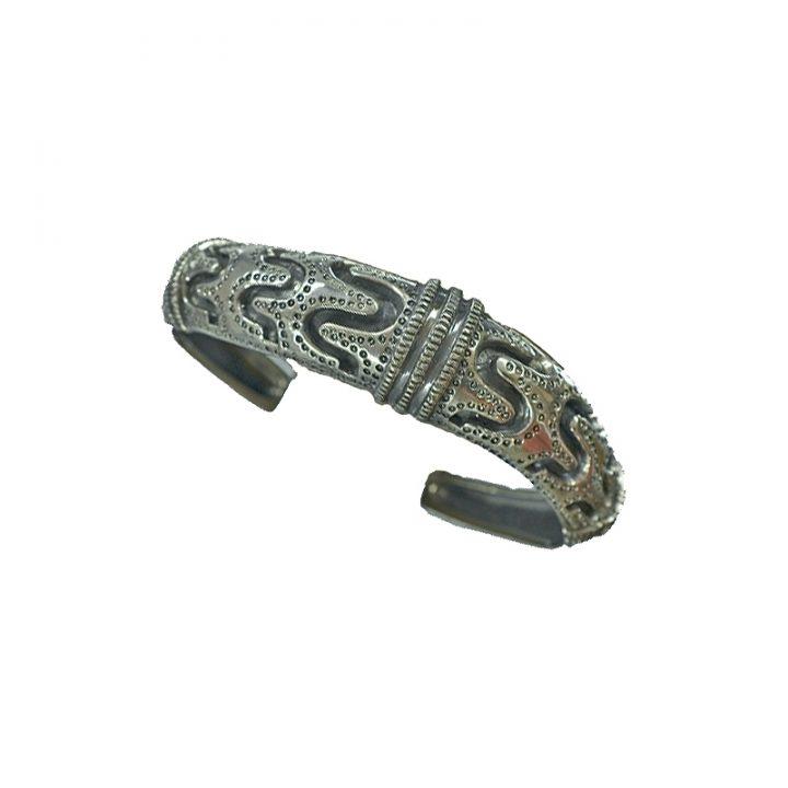 Wikinger Armreifen Replic Silber
