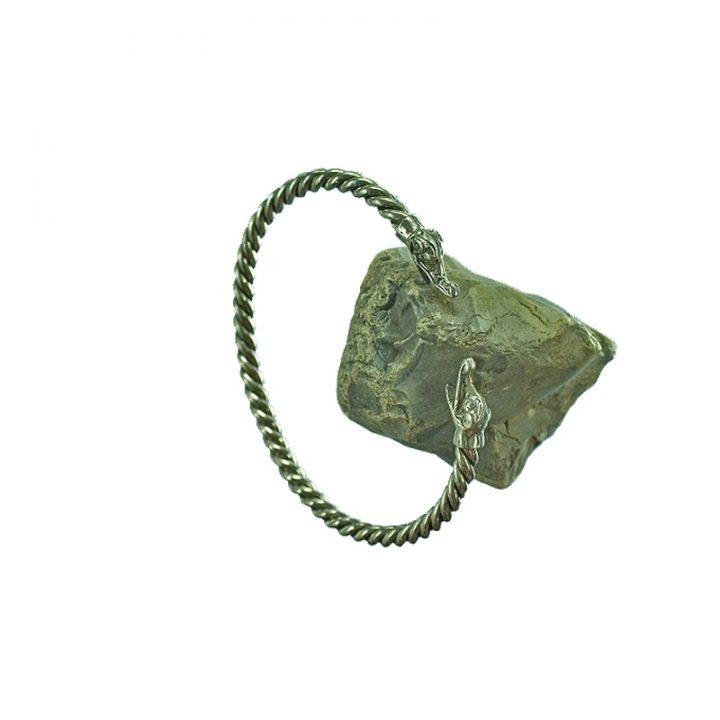 Viking Armband Replika Zilver